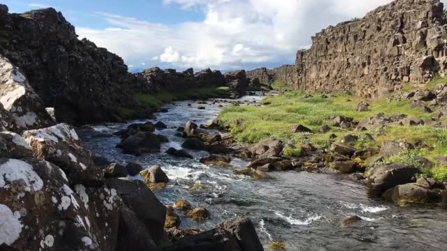 Watch and share Iceland River GIFs on Gfycat