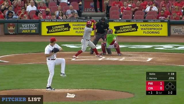 Watch and share Cincinnati Reds GIFs and Baseball GIFs by DigitalOpticals on Gfycat