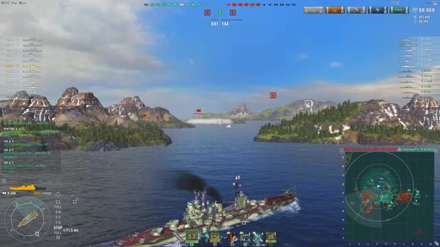 Watch World of Warships GIF on Gfycat. Discover more related GIFs on Gfycat