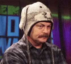 Watch and share Nick Offerman GIFs and Deal With It GIFs on Gfycat