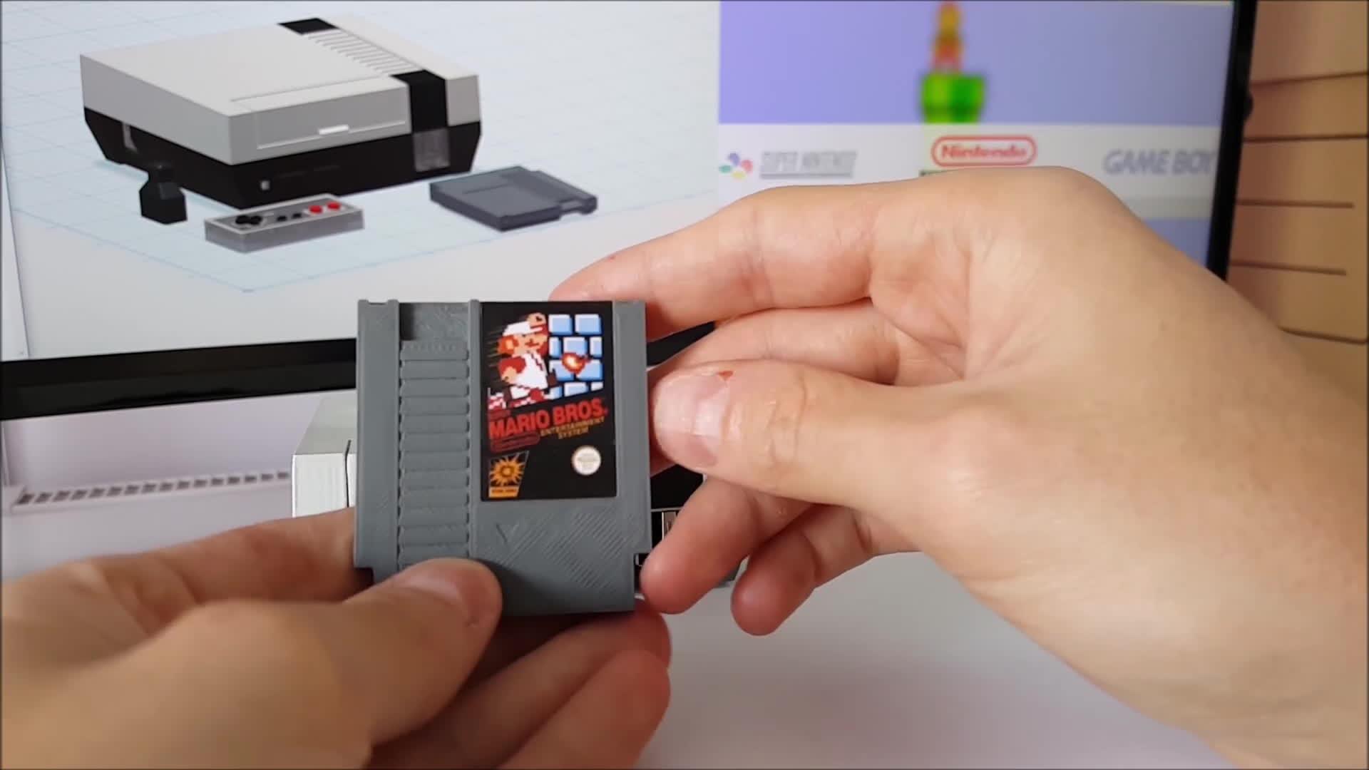 3d printing, raspberry pi, retropie, Raspberry Pi Mini NES Classic Console GIFs