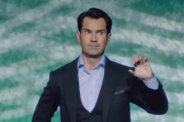 Watch and share Jimmy Carr GIFs by jaxspider on Gfycat