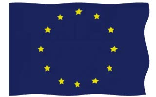 Watch and share Eu European Union Flag Waving Animated Gif GIFs on Gfycat