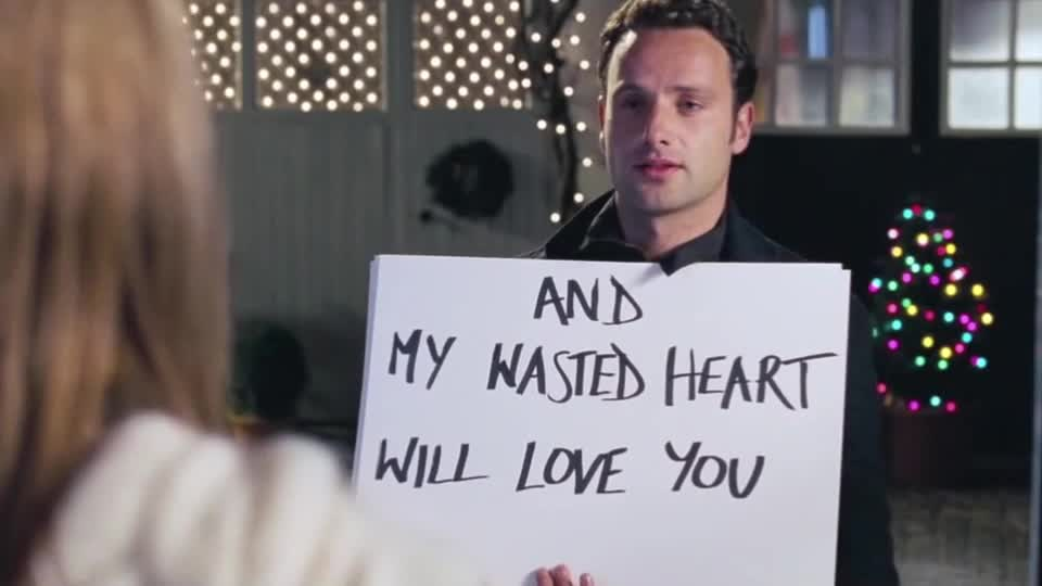 i love you, i will always love you, keira knightley, love, love actually, true love, I love you GIFs