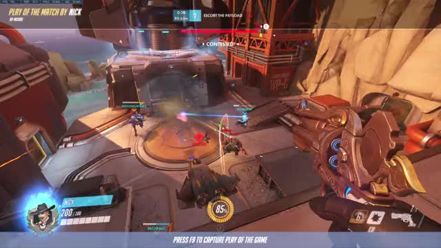 Watch and share Overwatch GIFs and Mccree GIFs by thebombzen on Gfycat