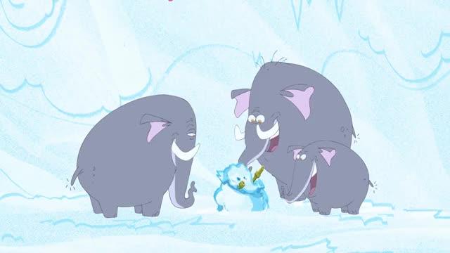 Watch Elephants Destroyed Snowman 🐘⛄️ GIF by @fannie123 on Gfycat. Discover more Zig and Sharko, cartoon, crying, elephant, mermaid, skiing, snow, snowman GIFs on Gfycat