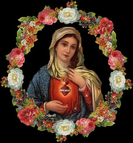 Watch and share Virgin Mary animated stickers on Gfycat