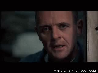 Watch and share Anthony Hopkins GIFs and Jodie Foster GIFs on Gfycat