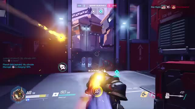 Watch Best Reinhardt charge ever GIF on Gfycat. Discover more gamingpc GIFs on Gfycat