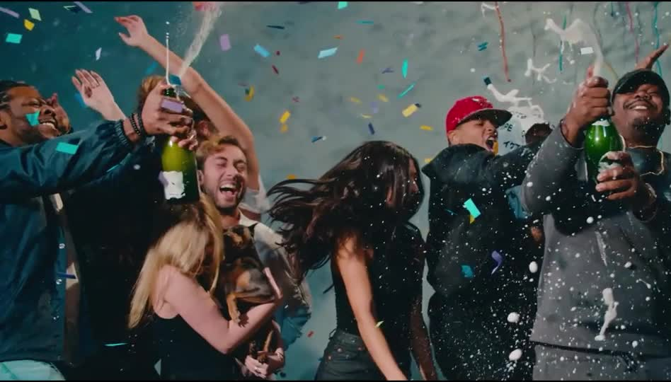 GIF Brewery, bday, birthday, celebrate, celebration, champagne, congratulations, drunk, excited, friends, happy, hooray, malone, night, party, post, quavo, saturday, yay, yeah, Post Malone - Congratulations GIFs