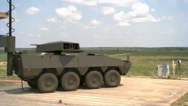 ThingsThatBlowUp, oddlysatisfying, thingsthatblowup, Mobile Missile Launcher In Action (reddit) GIFs