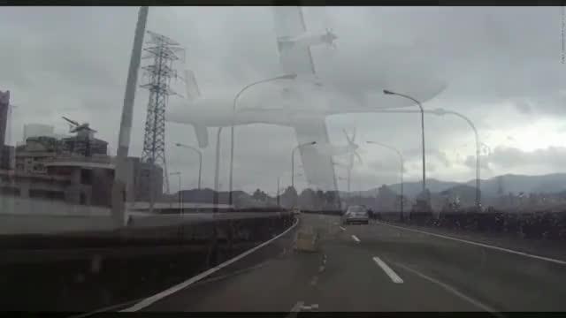 Watch and share ✈TransAsia Airways Plane Crash GE 235 GIFs by da_king_in_da_norf on Gfycat
