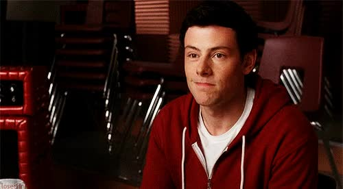Watch and share Finn Hudson Glee GIFs on Gfycat
