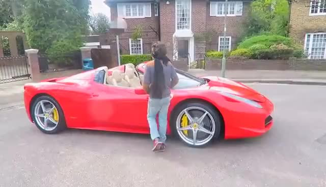Watch FERRARI BIRTHDAY SURPRISE GIFT!!! GIF on Gfycat. Discover more related GIFs on Gfycat