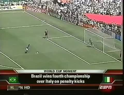 Watch and share Roberto Baggio Penalty Missed 1994 FIFA World Cup GIFs on Gfycat