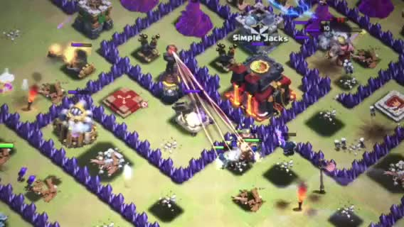 Watch [Glitch] Anyone seen this before? Inferno Tower Extended shot further than range. (reddit) GIF on Gfycat. Discover more clashofclans GIFs on Gfycat