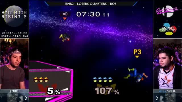 Watch BMR2 - ALG EMG n0ne vs $mike - Losers Quarters GIF on Gfycat. Discover more smash, ssbm, super GIFs on Gfycat