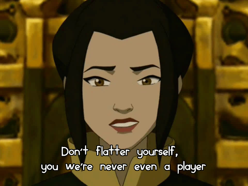 thelastairbender, [ATLA] Taking a break from meta GIFs to make the best moment from my favorite Game of Thrones...er, ATLA character, into a HQGIF (reddit) GIFs