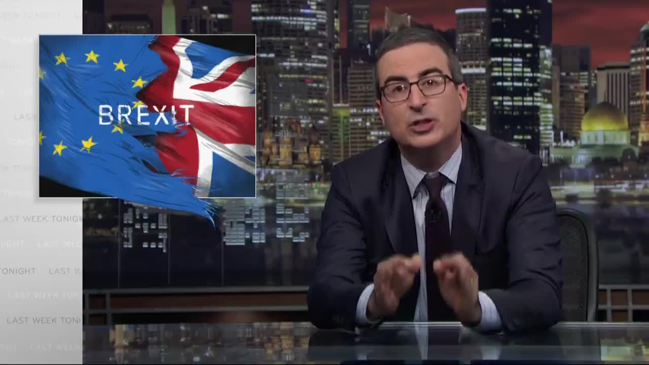 brexit, celebs, john oliver, Brexit III: Last Week Tonight with John Oliver (HBO) GIFs