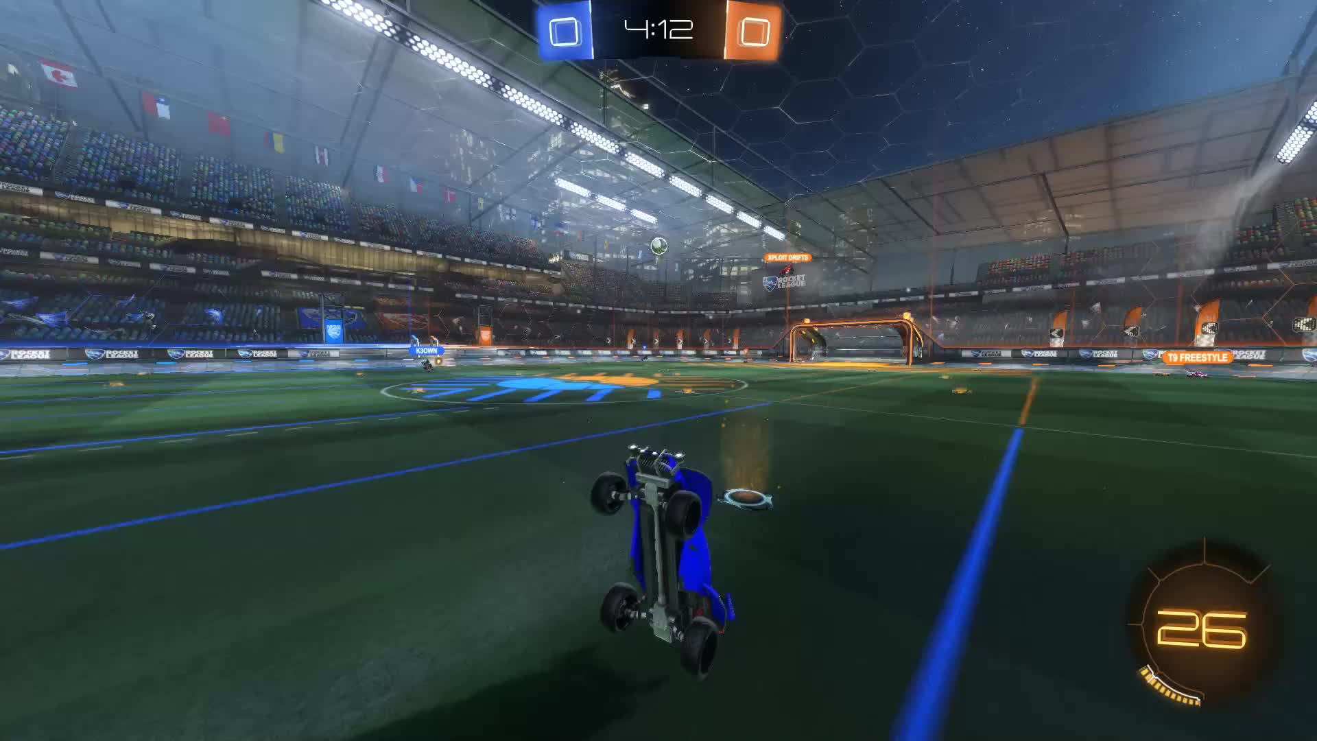 Gif Your Game, GifYourGame, Goal, Rocket League, RocketLeague, shimmy, Goal 1: shimmy GIFs