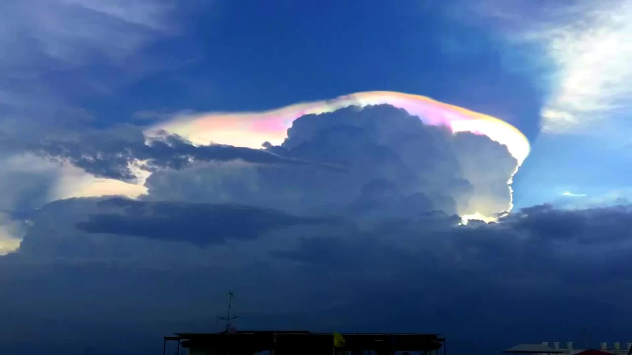 cloud, clouds, nature, Cloud Iridescence GIFs