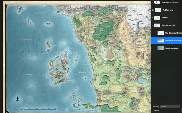 Watch 5e D&D Sword Coast Map Differences GIF on Gfycat. Discover more GIF Brewery, dndnext GIFs on Gfycat