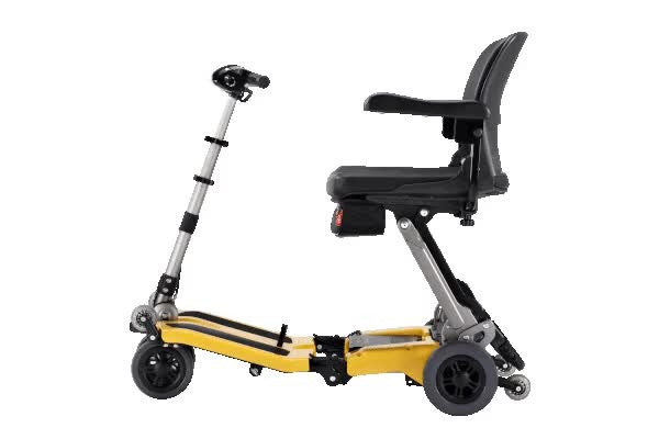 Watch and share Luggie Deluxe Portable Mobility Scooters GIFs by EZ Medbuy Inc on Gfycat