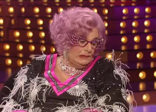 Watch and share Dame Edna - GIFs on Gfycat