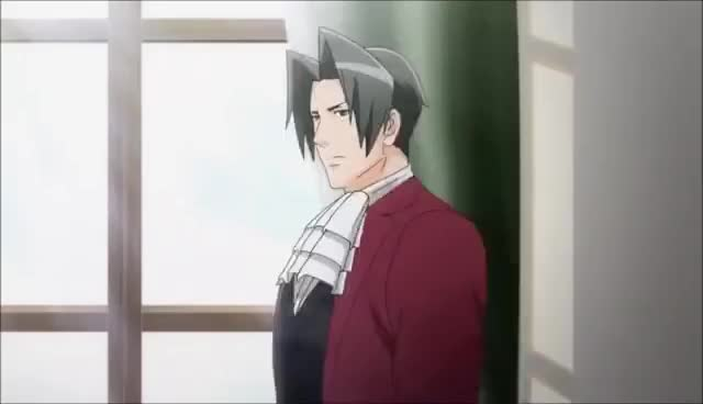 Watch Edgeworth nod GIF on Gfycat. Discover more related GIFs on Gfycat
