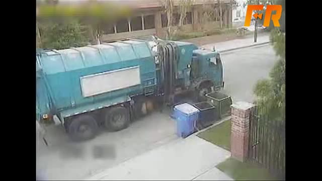 Watch Trash Truck Fail | OrangeCabinet GIF on Gfycat. Discover more All Tags, Fracaso, Jump, Top, Victoria, comedy, crazy, cutewinfail, epic, finalrewind, five, from, funny, lol, people, roof, stupid, ten, tobuscus, turner GIFs on Gfycat