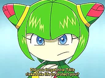 Watch and share Cosmo The Seedrian GIFs and Sonic X Episode 74 GIFs on Gfycat
