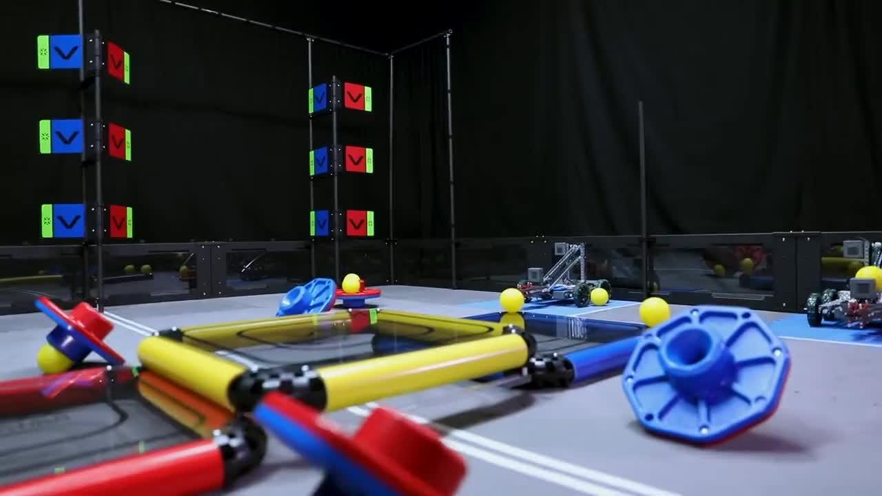 STEM, Vex, education, robot, robotics, robots, vrc, VEX Robotics Competition Turning Point: 2018-2019 VRC Game GIFs