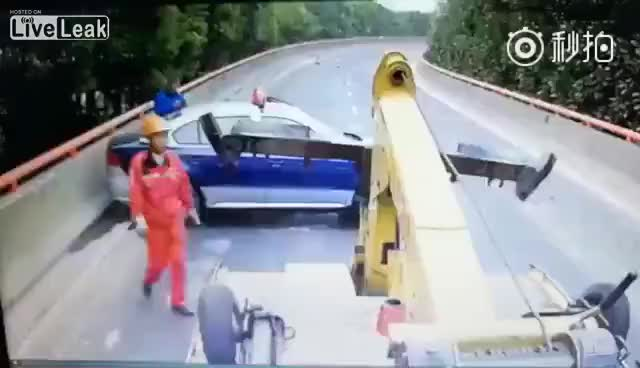 Watch and share Man Hit By Speeding Car Out Of Control GIFs on Gfycat
