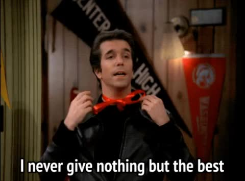 Watch and share Henry Winkler GIFs and Happy Days GIFs by MikeyMo on Gfycat