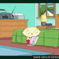 Watch and share Stewie Shoots A Mag! GIFs on Gfycat