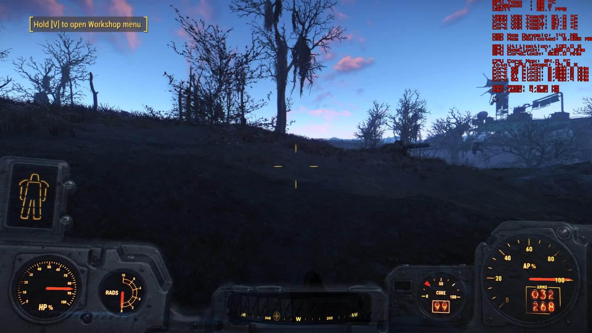 amd, Fallout 4 AMD Crimson Beta 11-30-2015 HUD Bug GIFs