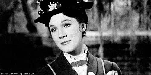 Watch and share Julie Andrews GIFs and Clapping GIFs by Reactions on Gfycat