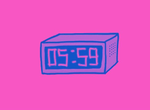Watch this wake up GIF by GIF Queen (@ioanna) on Gfycat. Discover more alarm, clock, coffee, late, pink, ring, sleep, sleepy, tired, up, wake, wake up, work GIFs on Gfycat