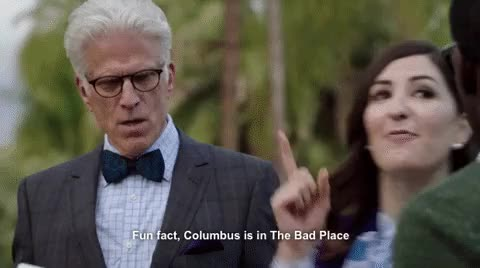 Watch and share D'arcy Carden GIFs and Ted Danson GIFs on Gfycat