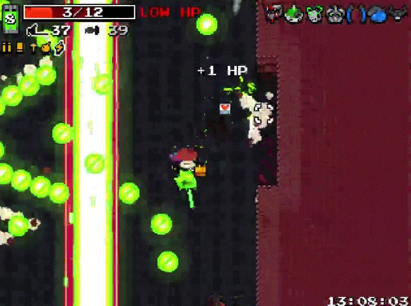 nuclearthrone, [Spoilers] Even though I didn't lose strong spirit, this was still my most clutch Throne kill to date (reddit) GIFs