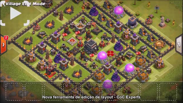 Watch NEW DARK SPELL! SKELETON SPELL   Clash Of Clans + VILLAGE EDIT MODE HIGHLIGHT GIF on Gfycat. Discover more clash, clash of clans, update GIFs on Gfycat
