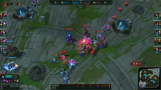 Watch Jhin 4v5 Carry - Quadrakill GIF on Gfycat. Discover more leagueoflegends GIFs on Gfycat