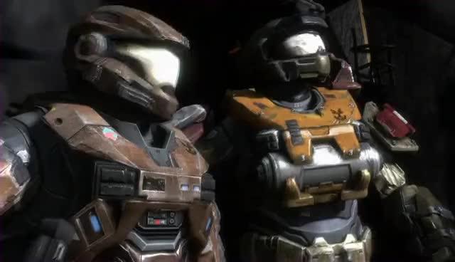 Halo Reach Cutscenes ONI Sword Base Closing