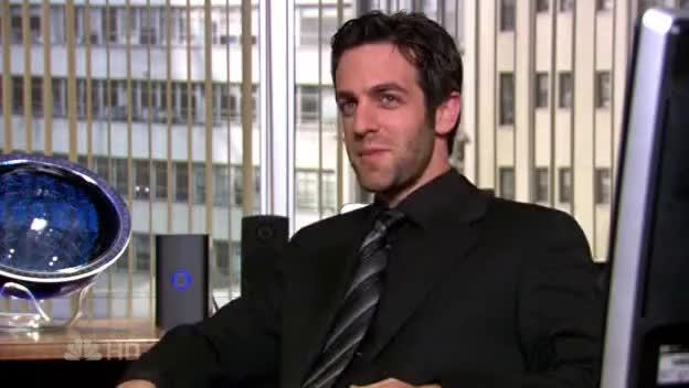 b. j. novak, The Office- Season 4- Ryan- Wunderkind GIFs