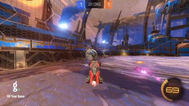 Watch Goal 3: BenC GIF by Gif Your Game (@gifyourgame) on Gfycat. Discover more BenC, Gif Your Game, GifYourGame, Rocket League, RocketLeague GIFs on Gfycat