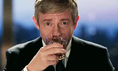 Watch and share Martin Freeman GIFs and I Made This GIFs on Gfycat