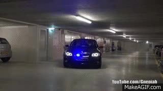 Watch and share Undercover BMW - Police LED Lights GIFs on Gfycat