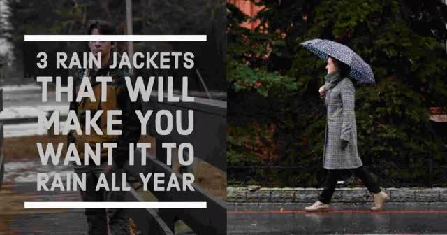 Watch and share Rain-jacket-manufacturer GIFs on Gfycat