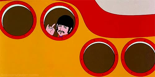 Watch and share Yellow Submarine GIFs on Gfycat