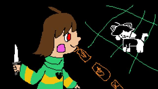 Watch and share Pixilart - Killing Temmie! Nuu I Feel Bad For Poor Temmie :( GIFs on Gfycat